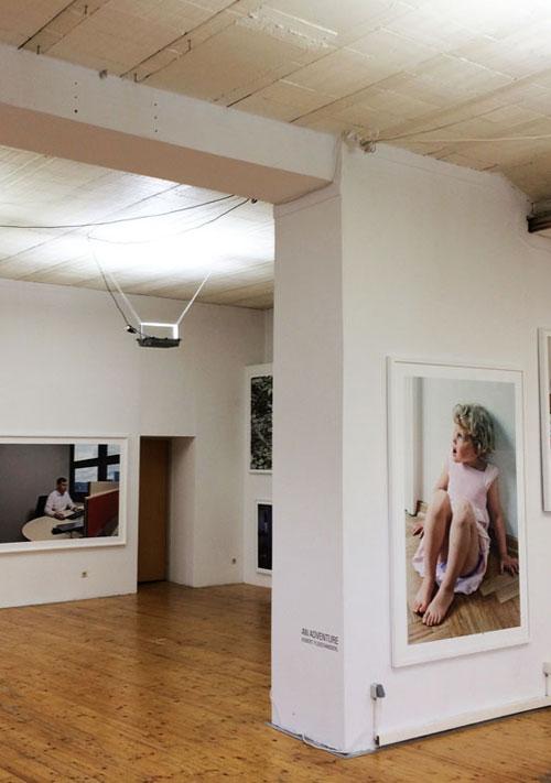 Atelierhaus | Hochformat Innen | Helene Lippert