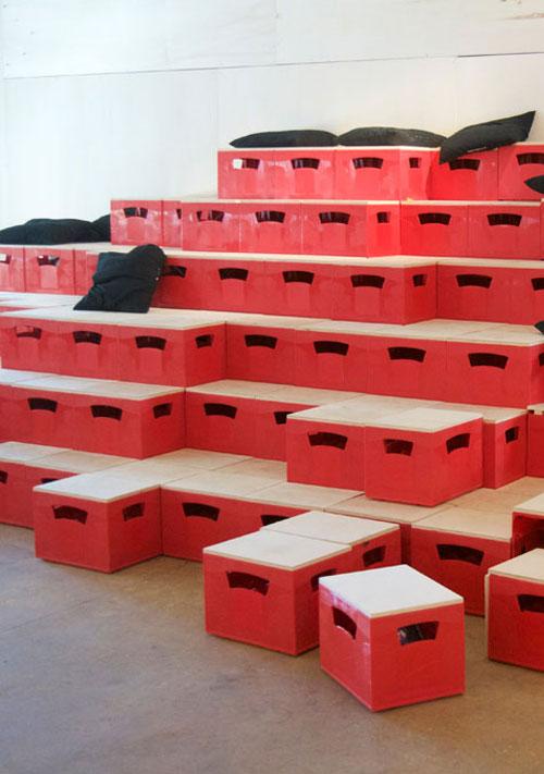 Künstlerhaus | Bierkisten Hochformat | Helene Lippert